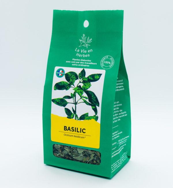 tisane la vie en herbes basilic