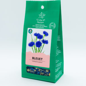 tisane la vie en herbes bleuet