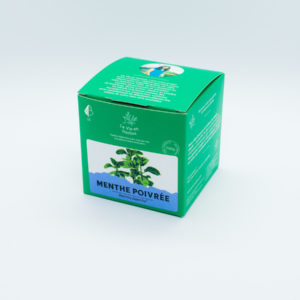 tisane la vie en herbes menthe poivree