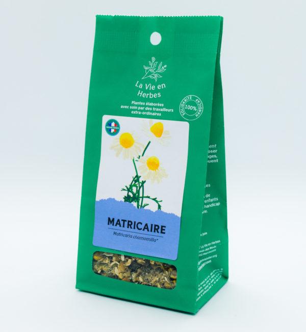 tisane la vie en herbes matricaire