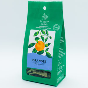 tisane la vie en herbes oranger