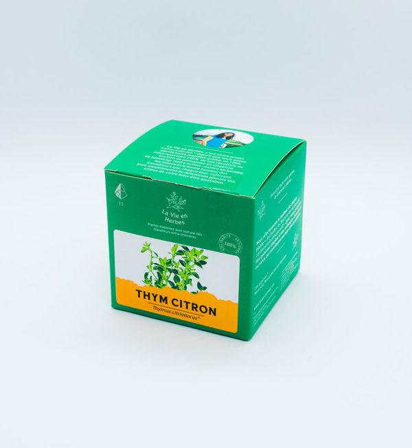 tisane la vie en herbes thym citron
